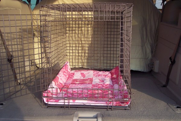 Dog Crate Blanket Breast Cancer Pink Print Size 35 1 2 X 23