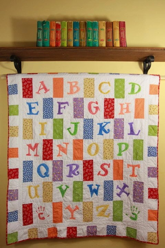 Crayon Box Alphabet Quilt Pattern