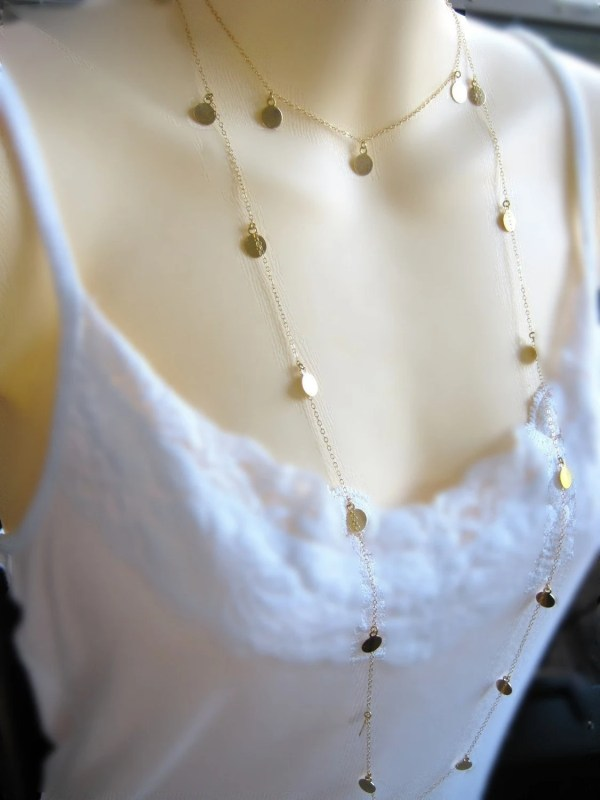 Jules Cobb Courtney Cougar Town Necklace Shimmer