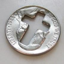 Coin Cut Art - Year of Clean Water