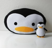 Penguin Pillow PERSONALIZED for YOU