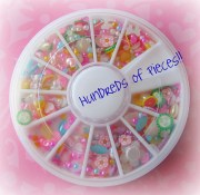 pearl deco kawaii nail art sweets