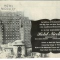 1950s hotel advertisement hotel nicollet minneapolis by holcroft