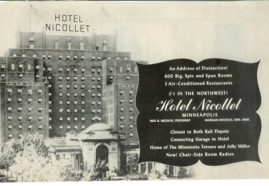 Old Nicollet Hotel Minneapolis