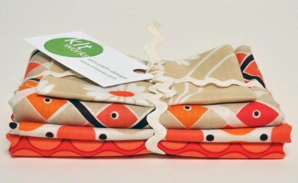 Orange Destash Bundle 3 Denyse Schmidt Katie Jump Rope & 1