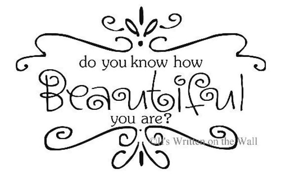 Items similar to Do you know how beautiful you are Vinyl