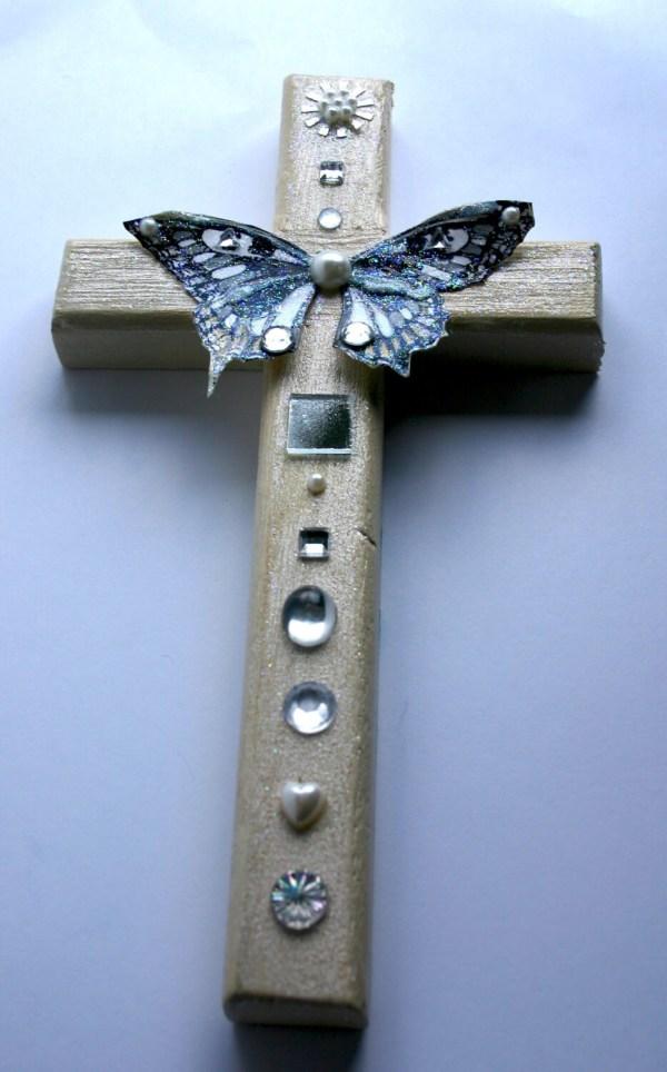 Decorative Wood Cross Wall Art