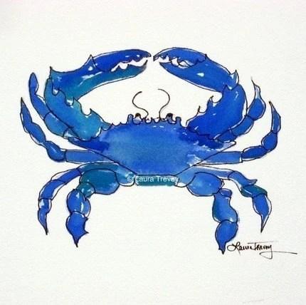 blue crab etsy