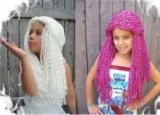yarn falls hair crochet fashion
