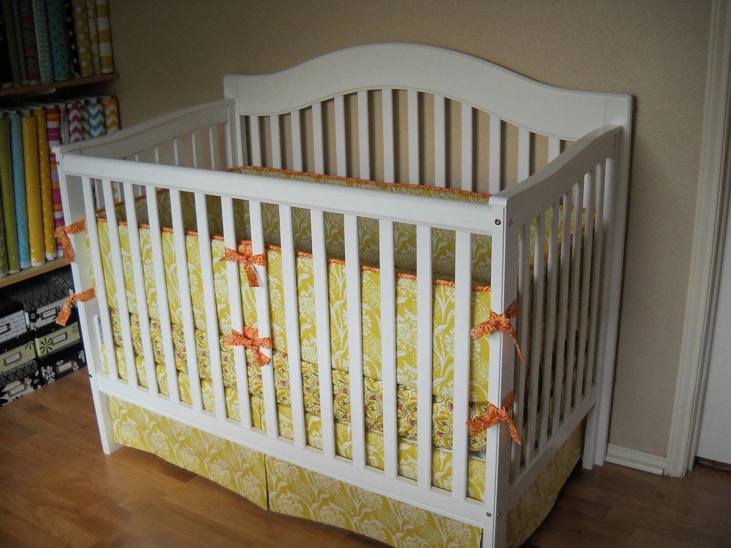 Design Your Own Custom Crib Bedding Set You By Cottagebelles