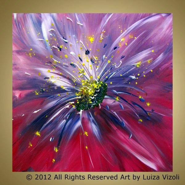 Modern Flower Paintings