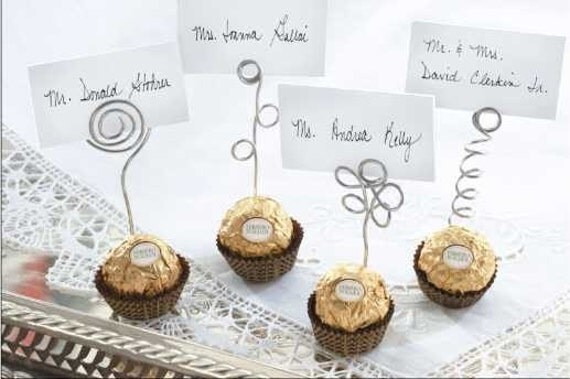 20 Wire Place Card Holders Photos Note Picks Food Banquet