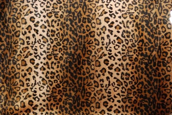 Leopard Print Faux Fur Fabric Excellent Quality 2 Hansaware