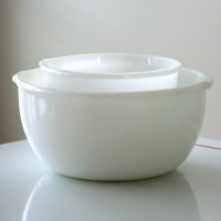 Milk Glass Glasbake for Sunbeam Mixing Bowls by jaditekate ...