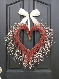 VALENTINE WREATH Door Wreaths You Have My Heart