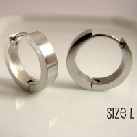 Silver Hoop Earrings For Men | www.pixshark.com - Images ...