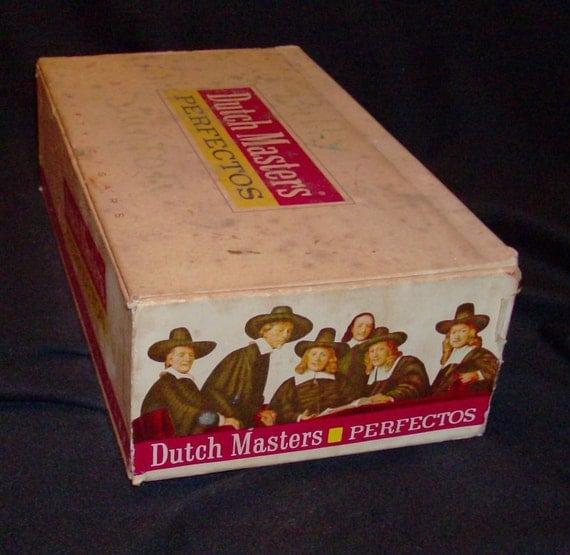 Dutch Masters Cigar Box