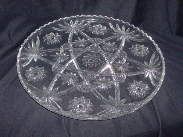 Large Clear Glass Serving Bowl Fromlosttofound