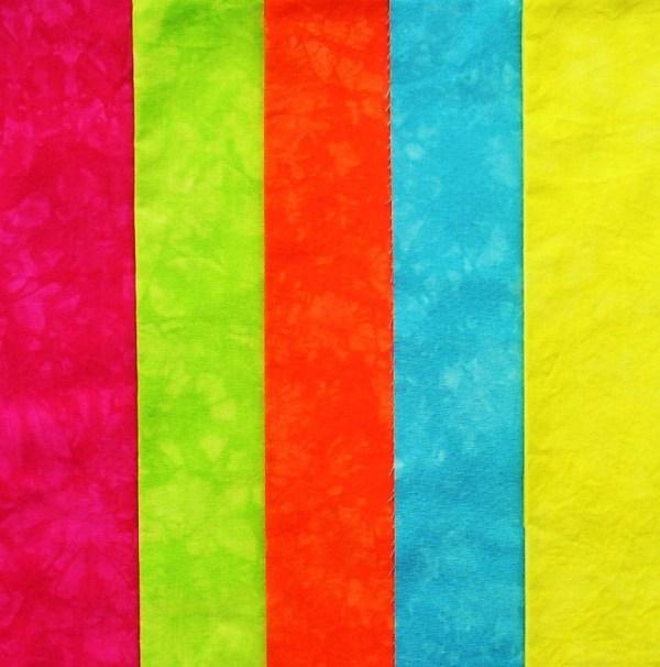 Bright Neon Colors Fabrics