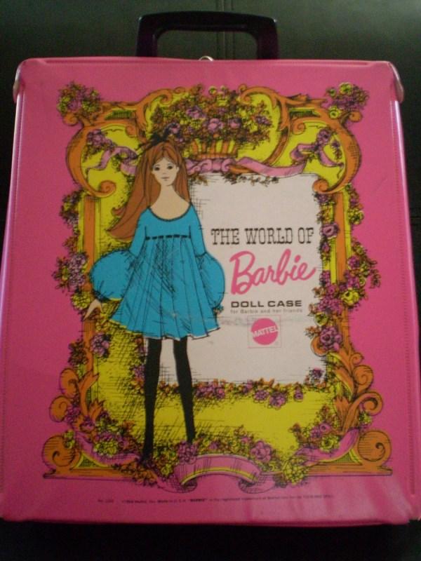 Vintage World Of Barbie Doll Case 1968