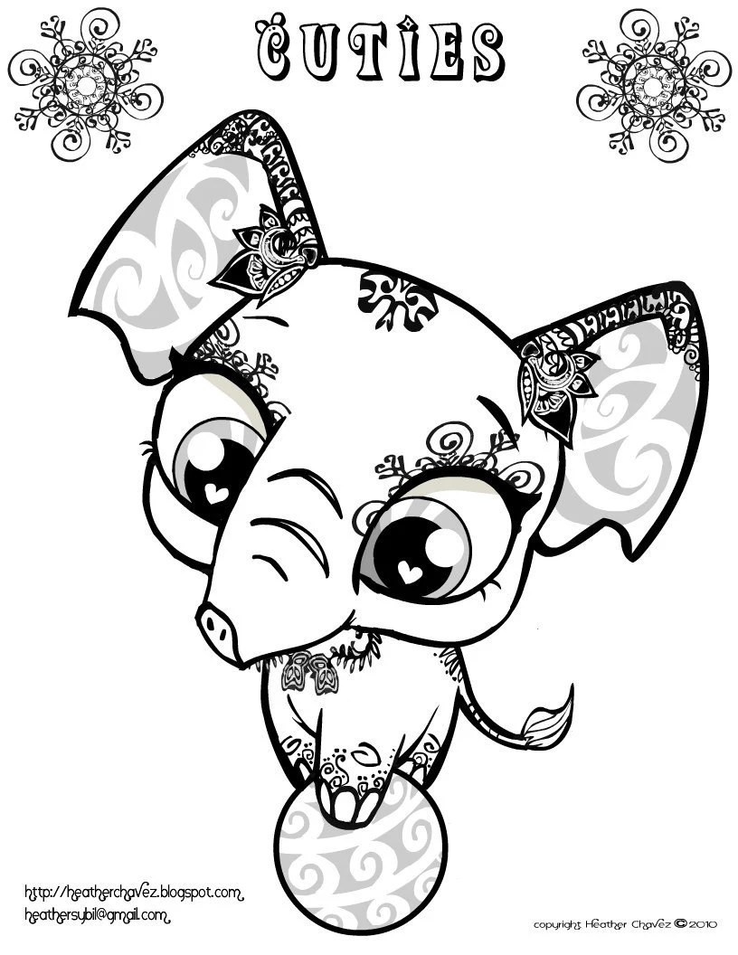 The Creative Cuties coloring book Coloring by HeatherChavez