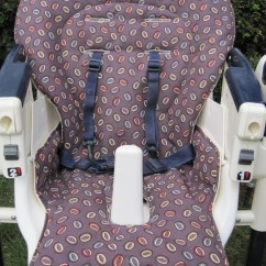 Peg Perego High Chair Cover Rocker Outdoor Chairs Custom Prima Pappa Covers
