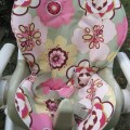 Custom fisher price space saver high chair cover by sewplicity