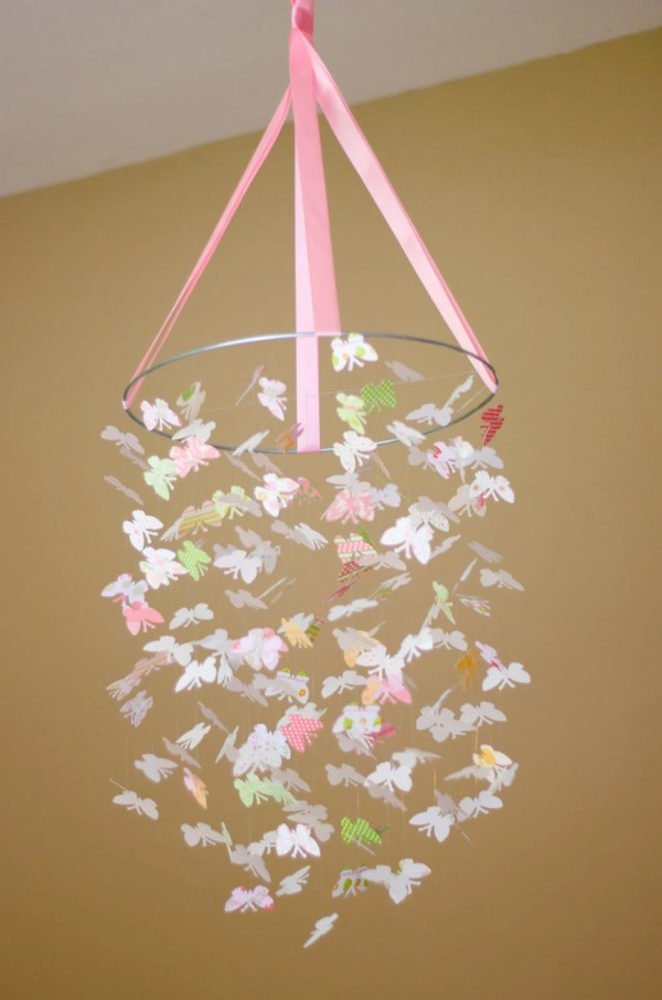 Pretty Baby Butterfly Mobile Kit-diy-great