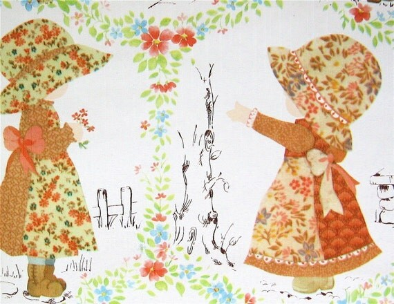 Strawberry Shortcake Girl Wallpaper Holly Hobbie On The Wall Vintage Wallpaper