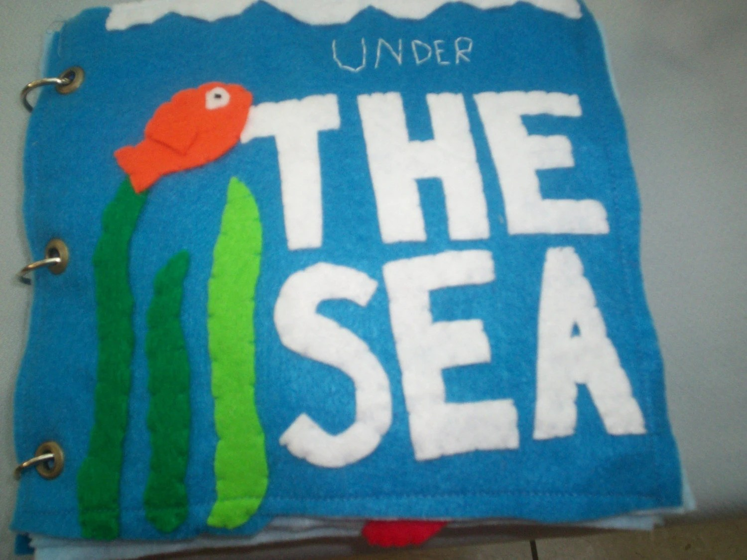 Under The Sea Ocean Animal Counting Quiet By Lindaskraftykreation