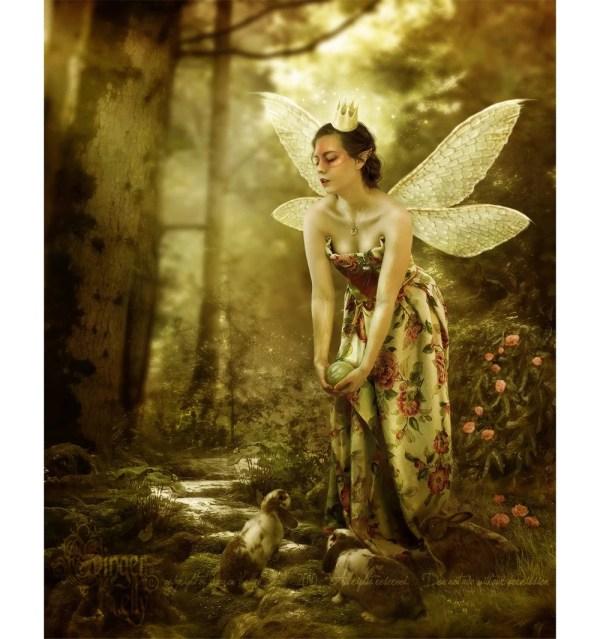 Faerie Games Fairy Art Postcard Prints Set Of 10