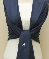 8 navy blue shawls