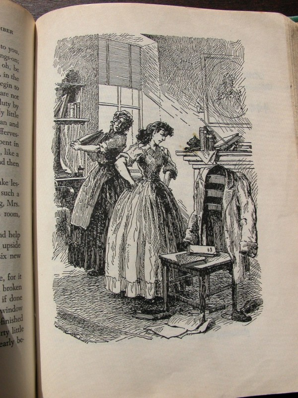 Little Women Vintage Book 1947 With Illustrations