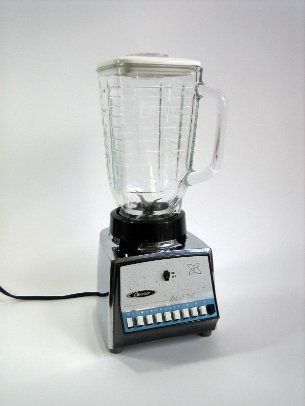 Chrome Galaxie Ten Osterizer Blender With Cookbook 60s