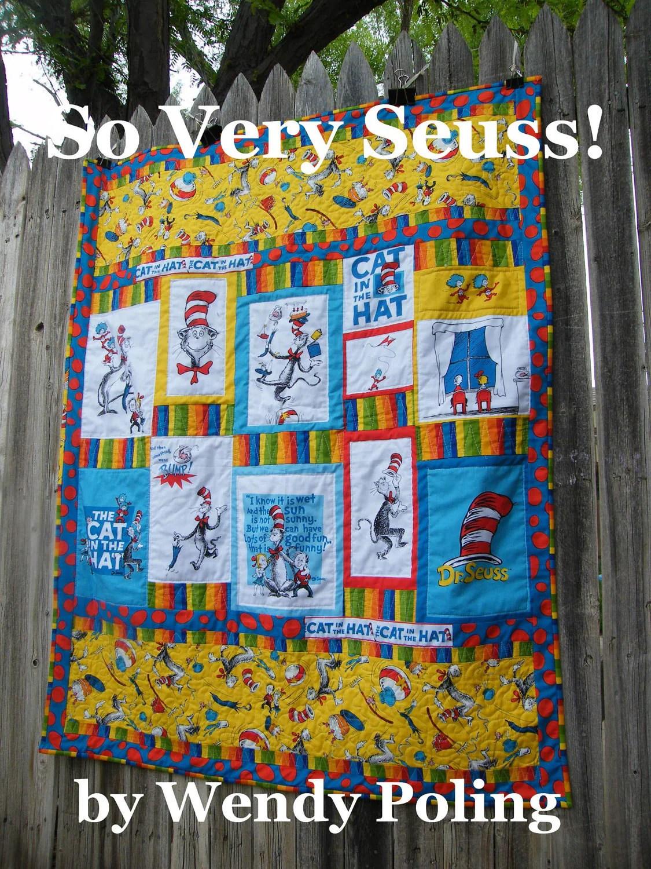 So Very Seuss Dr Seuss Quilt Pattern
