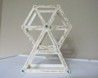Vintage Ferris Wheel Earring Holder