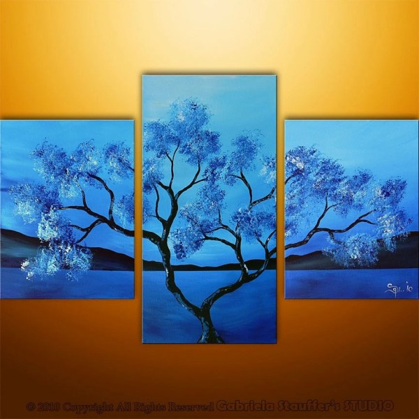 Tree Painting Modern Abstract Art