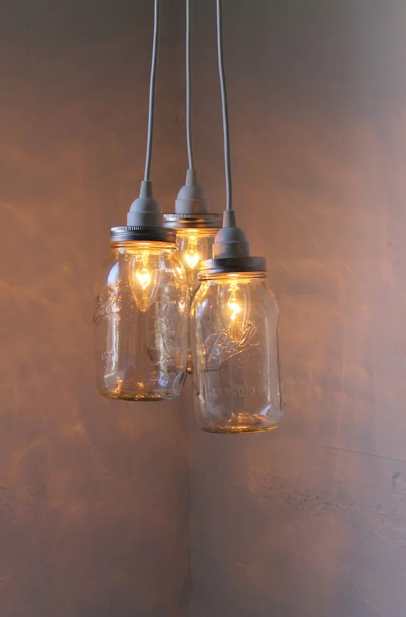 Ball Jar Pendant Lights