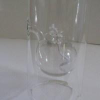 Wolfard Handblown Glass Oil Lamp
