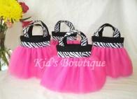 Pink Zebra Birthday Party Decorations