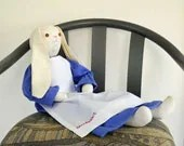 Stuffed Bunny Betsy Bunny Beatrix Potter Biggest Fan Easter Bunny - KMSORIGINAL
