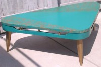 Mid Century Modern Atomic Boomerang Coffee Table by diantiques
