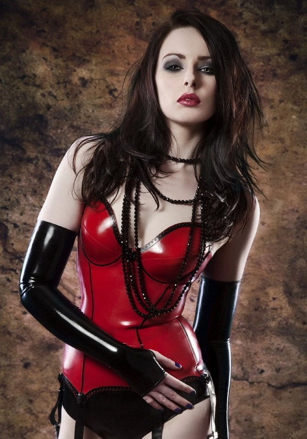 Items similar to 6 SUSPENDER LATEX BASQUE Made to measure