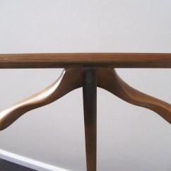Mens Valet Chair Swing Frame Mid Century Danish Modern Style Dressing