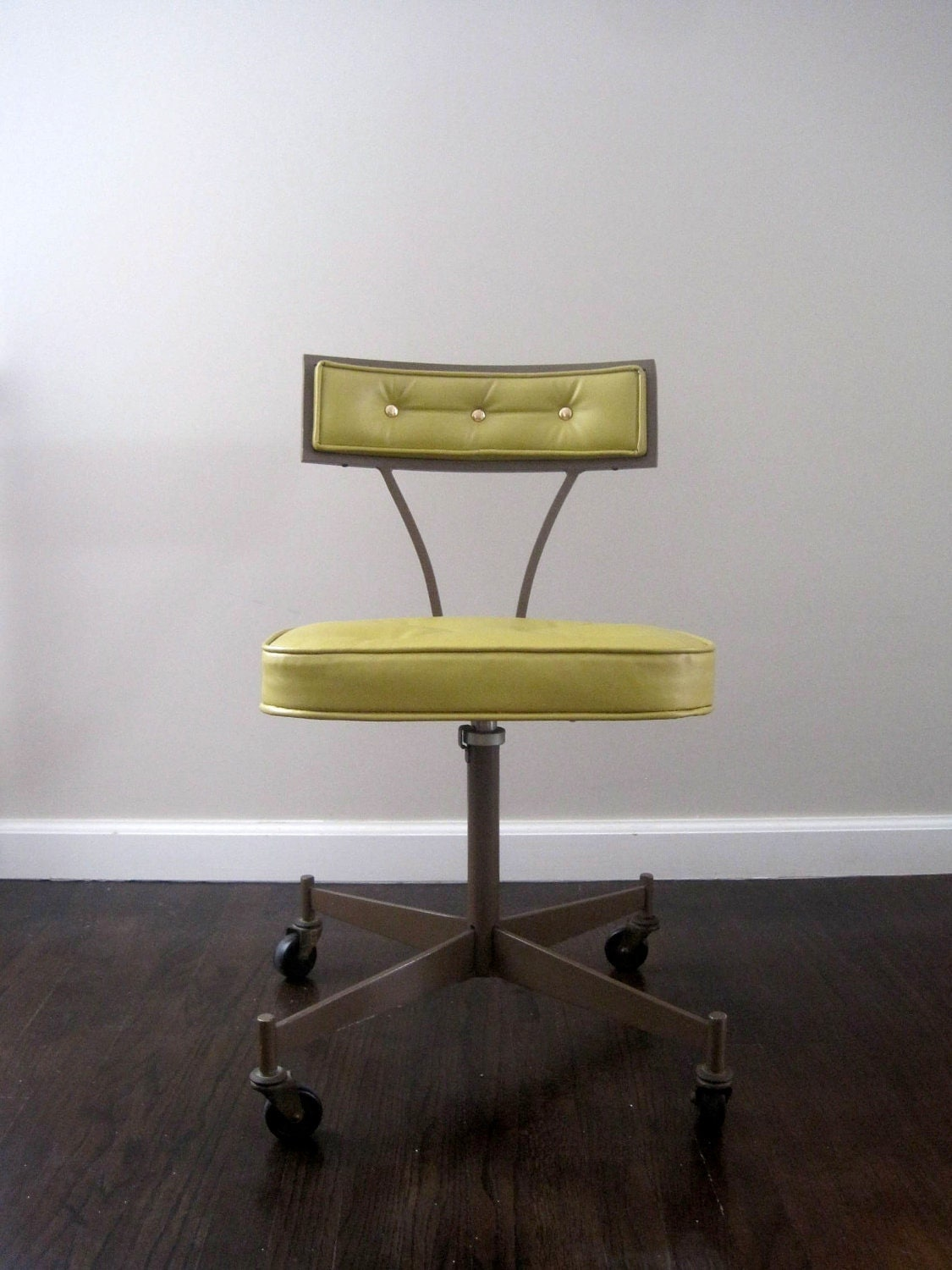 Mid Century Modern Office Chair On Hold Mid Century Modern 1950s Rolling Desk Chair