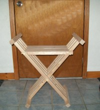 Medieval Folding Chair Replica for by CraftedQualityPlus ...