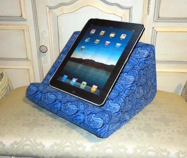 Padded iPad Stand For Your Lap Or All Your Hands Free