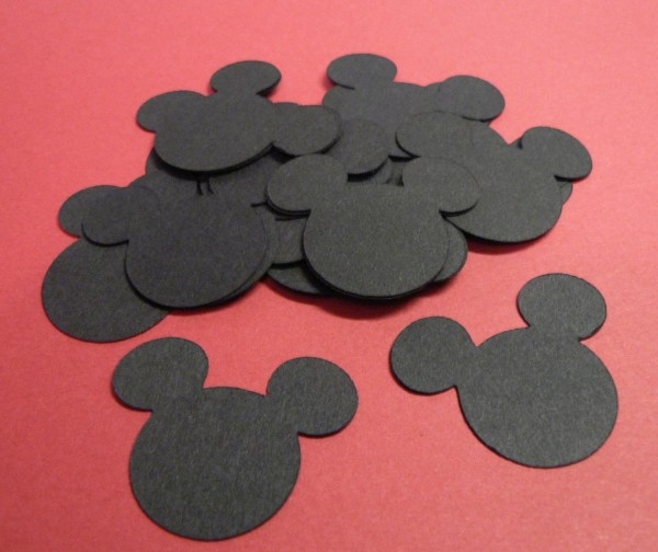 Mickey Mouse Head Paper Punches