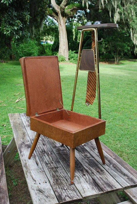 Items Similar To Vintage Mens Valet Butler Dressing Chair