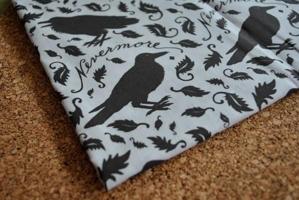 Nevermore Raven Fabric Original Katherinecodega